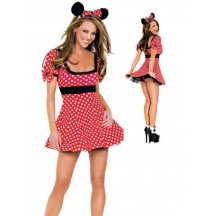 Disney Costumes Storybook Costume Wholesale Minnie Mouse Sexy Minnie Mouse Costume from China Manufacturer Directly