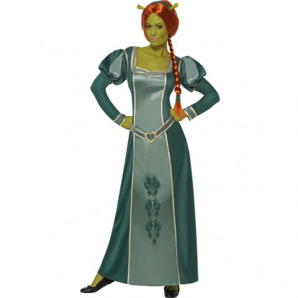 Disney Costumes Storybook Costume Wholesale Prince Princess Shrek Princess Fiona Womens Costume from China Manufacturer Directly
