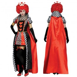 Disney Costumes Storybook Costume Wholesale Queen of Hearts Womens Dress Costume from China Manufacturer Directly
