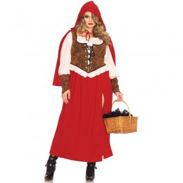 Disney Costumes Storybook Costume Wholesale Red Riding Hood Woodland Riding Hood Womens Costume from China Manufacturer Directly