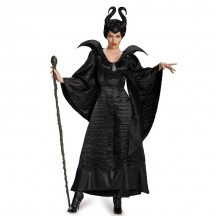 Disney Costumes Storybook Costume Wholesale Snow White Maleficent Deluxe Christening Black Gown Womens Costume from China Manufacturer Directly