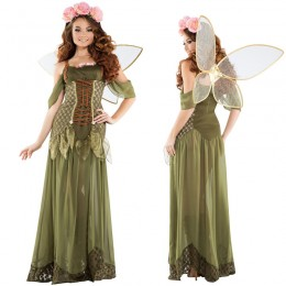 Disney Costumes Storybook Costume Wholesale Tinkerbell Rose Fairy Tinkerbell Womens Costume from China Manufacturer Directly