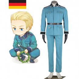 Cosplay Costumes Wholesale Axis Powe Hetalia Germany Ludwig Beilschmidt Uniform from China Manufacturer Directly
