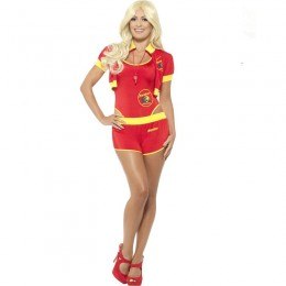 Movies,Music TV Costume Wholesale Baywatch Costumes Deluxe Baywatch Lifeguard Womens Costume from China Manufacturer Directly