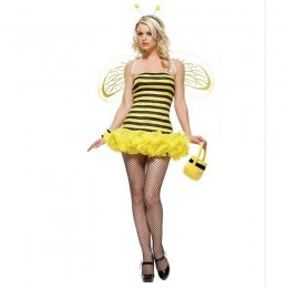 Other Costumes Wholesale Animal Sexy Bumble Bee Womens Costume from China Manufacturer Directly