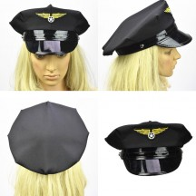 Party Accessories Wholesale Costume Culture Men's Pilot Hat from China Manufacturer Directly