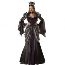 Other Costumes Wholesale Gothic Elite Wicked Queen Snow White Halloween Womens Costume from China Manufacturer Directly