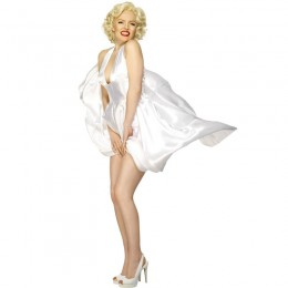 Other Costumes Wholesale Marilyn Monore Marilyn Monroe Adult Womens Costume from China Manufacturer Directly
