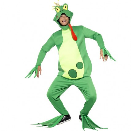 Other Costumes Wholesale Mascots Frog Prince Animal Onesies Costume from China Manufacturer Directly