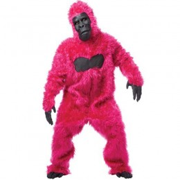 Other Costumes Wholesale Monkeys Gorillas Gorilla (Pink) Mens Fancy Dress Costume from China Manufacturer Directly