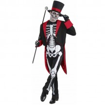 Other Costumes Wholesale Morphsuits Mr Bone Jangles Skeleton Mens Costume from China Manufacturer Directly