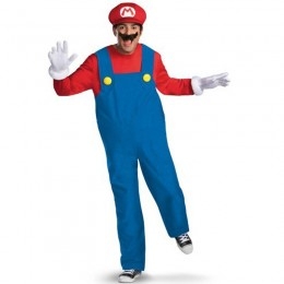 Other Costumes Wholesale Nintendo Deluxe Super Mario Brothers Mens Costume from China Manufacturer Directly