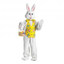 Events Occasions Costumes Wholesale Easter Adult Deluxe With Yellow Bunny Costume from China Manufacturer Directly
