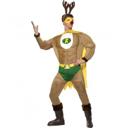 Events Occasions Costumes Wholesale Super Reindeer Christmas Mens Costume Wholesale from China Manufacturer Directly