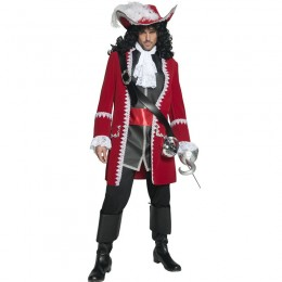 Events Occasions Costumes Wholesale In The Sea Authentic Pirate Captain Mens Costume Wholesale  from China Manufacturer Directly