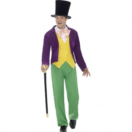 Events Occasions Costumes Wholesale With Roald Dahl Willy Wonka Mens Costume Wholesale from China Manufacturer Directly