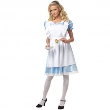 Events Occasions Costumes Wholesale In Wonderland Classic Alice in Wonderland Womens Fancy Dress Wholesale from China Manufacturer Directly