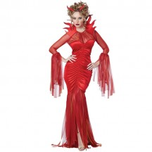 Halloween Scary Costumes Wholesale Angels Devils Devilish Devil Womens Halloween Costume Wholesale from China Manufacturer Directly