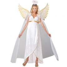 Halloween Scary Costumes Wholesale Angels Devils Guardian Angel Heaven Womens Costume Wholesale from China Manufacturer Directly