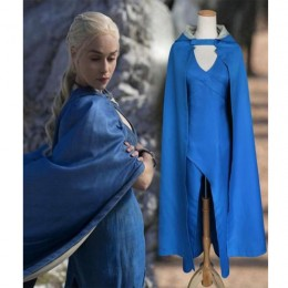 Movies,Music TV Costumes Wholesale Game of Thrones Game of Thrones Daenerys Targaryen Womens Costume Wholesale from China Manufacturer Directly