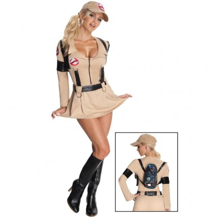 Movies,Music TV Costumes Wholesale Ghostbusters Sexy Ghostbuster Womens Costume Wholesale from China Manufacturer Directly