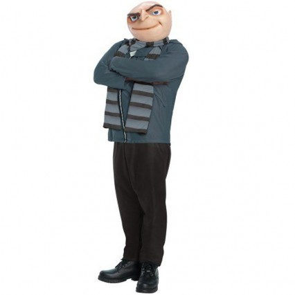 Movies,Music TV Costumes Wholesale Gru Despicable Me Villain Mens Costume Wholesale from China Manufacturer Directly