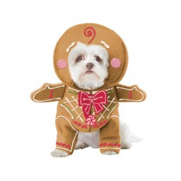 Pet Halloween Costumes Wholesale Gingerbread Pup Dog Costume Wholesale from China Manufacturer Directly
