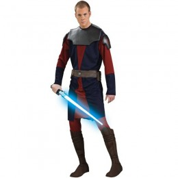 Movies Music TV Costumes Wholesale Star Wars Clone Wars Deluxe Anakin Mens Costume from China Manufacturer Directly