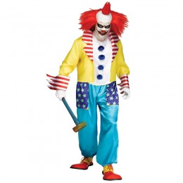 Occupation Costumes Wholesale Clowns and Circus Wicked Clown Master Mens Costume from China Manufacturer Directly