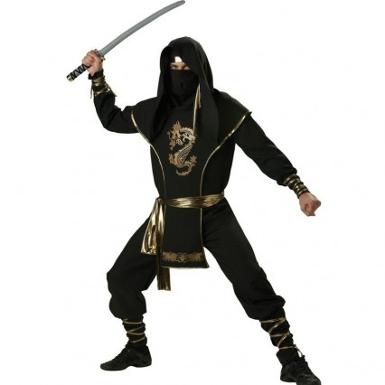 Occupation Costumes Wholesale Mens Ninja Warrior Elite Collection Mens Costume from China Manufacturer Directly