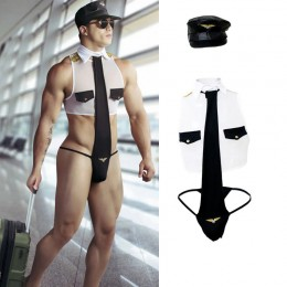 Occupation Costumes Wholesale Mr Pilot Costume Outfit from China Manufacturer Directly