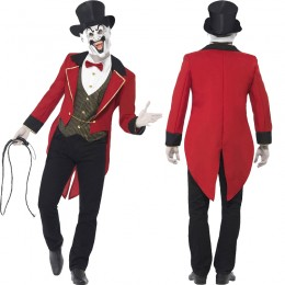 Occupation Costumes Wholesale Sinister Ringmaster Mens Costume from China Manufacturer Directly
