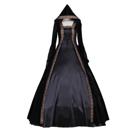 Women Halloween Costumes Wholesale Latest Vampiress Costume for Carnival Halloween Party
