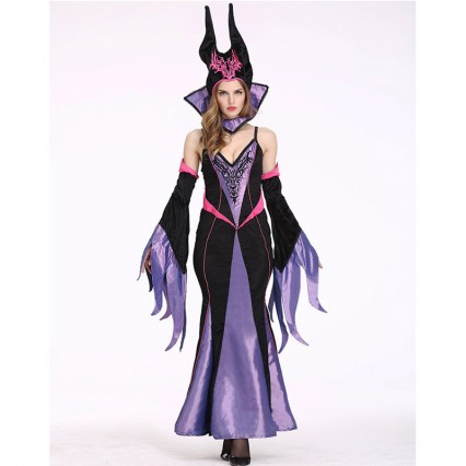 Women Halloween Costumes Wholesale Women Costumes Halloween Witch Masquerade Costume for Carnival Halloween Party