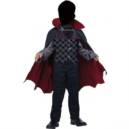Halloween Scary Costumes Wholesale Kid Trick or Treat Count Bloodfiend Vampire Boys Costume Wholesale from China Manufacturer Directly