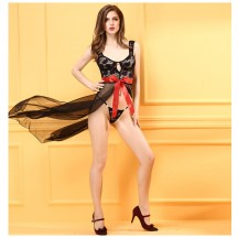 Party Costumes Wholesale Black Halter Neck Plunge Slinky Maxi Dress from China Manufacturer Directly