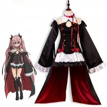 Girls Costumes Wholesale Seraph of the End Krul Tepes Cosplay Costume Bride Of Darkness Costume Supplier from China Manufacturer Directly