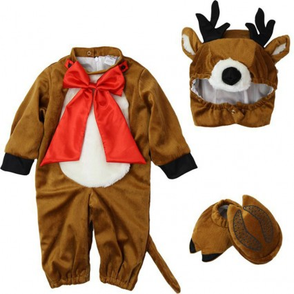 Baby Costumes Wholesale Baby Reindeer Rascal Costume Set Infant Toddler Wholesale from Manufacturer Directly carnival Costumes