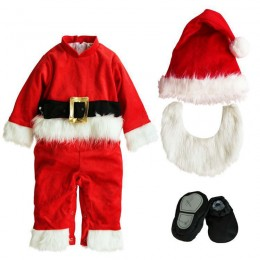 Baby Costumes Wholesale Santa Baby Costume Set Infant Toddler Wholesale from Manufacturer Directly carnival Costumes