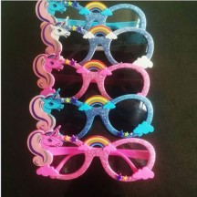 Party Accessories Glasses Cartoon Unicorn Sunglasses Party Decoration from China Manufacturer Directly