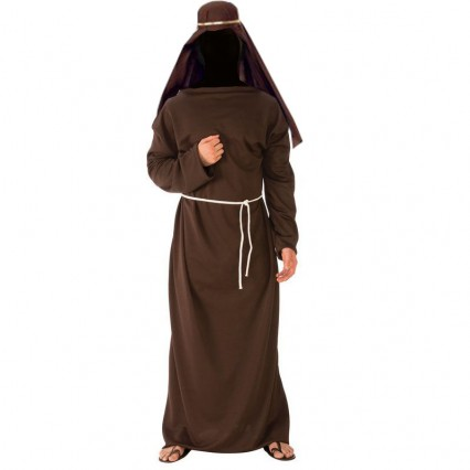 Biblical and Religious Costumes Wholesale Adult Brown Biblical Robe from China Manufacturer Directly
