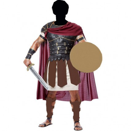 Greek and Roman Costumes Wholesale Mens Roman Gladiator Costumes from China Manufacturer Directly