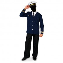 Retro Costumes Wholesale Retro Airline Captain Adult Costume from China Manufacturer Directly