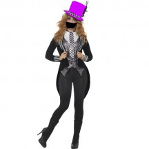 Halloween Scary Costumes Wholesale Twisted Dark Miss Hatter Costume Wholesale from China Manufacturer Directly