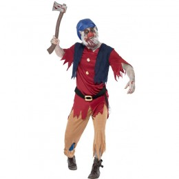 Halloween Scary Costumes Wholesale Zombie Dwarf Costume Wholesale from China Manufacturer Directly