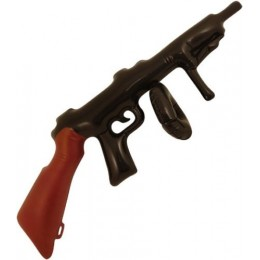 Party Accessories Wholesale Inflatable Blow Up Tommy Gun 80cm Great Fun Party or Fancy Dress Accessory