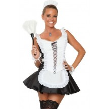 Halloween Sexy Lingerie Costumes Mascot Adult Fancy Dress Party Supply Carnival Abbey Maid Costume