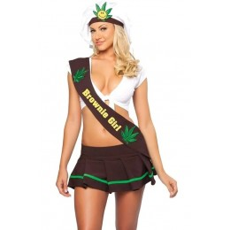 Halloween Sexy Lingerie Costumes Mascot Adult Fancy Dress Party Supply Carnival Colorado Brownie Girl Costume