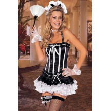 Halloween Sexy Lingerie Costumes Mascot Adult Fancy Dress Party Supply Carnival naughty nanette corset Outfit