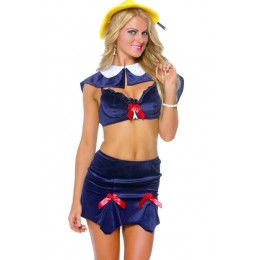 Halloween Sexy Lingerie Costumes Mascot Adult Fancy Dress Party Supply Carnival Parisian Schoolgirl Halloween Costume